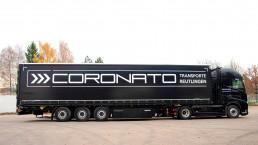 Coronato Transporte Sattelauflieger